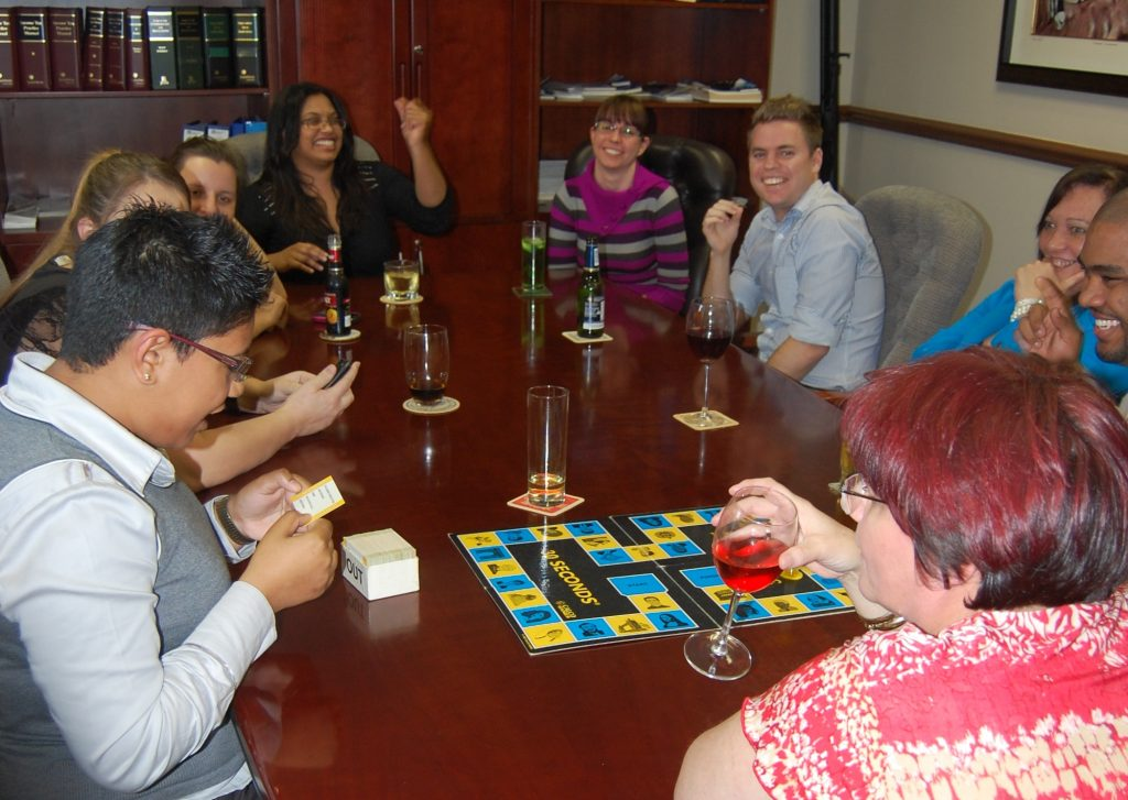 Birthday Games Evening – July 2013